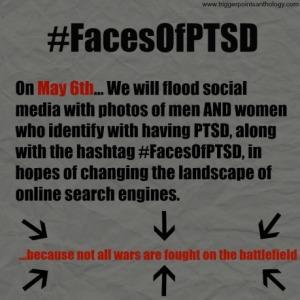 #FacesOfPTSD